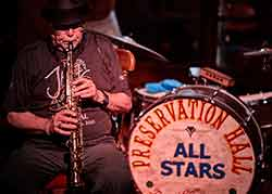 Freddy Rasmussen i Preservation Hall